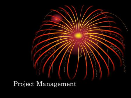 Project Management. Applications at Pine Valley Furniture.