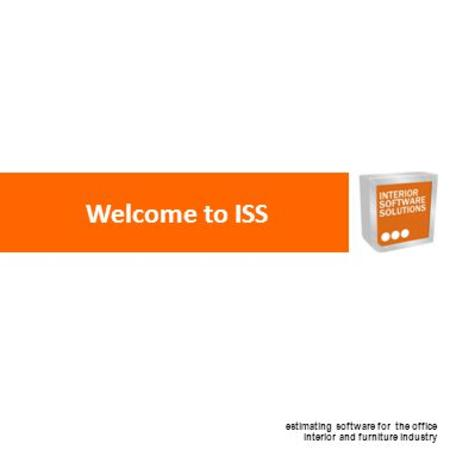 Estimating software for the office interior and furniture industry Welcome to ISS.