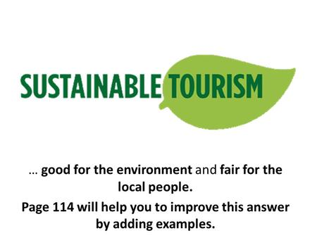 effects of tourism on the environment essay One of the most essential things for tourism to be successful in a particular place is the quality of the environment, both natural and man-made however tourism involves many activities that have a negative effect on the environment.