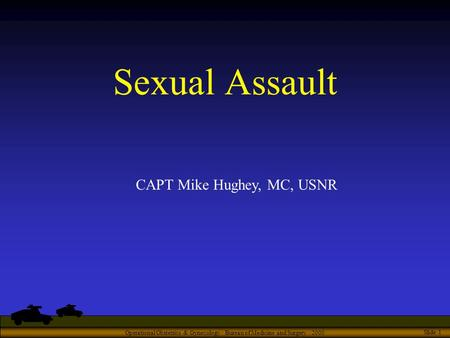 gynecology and sexual abuse