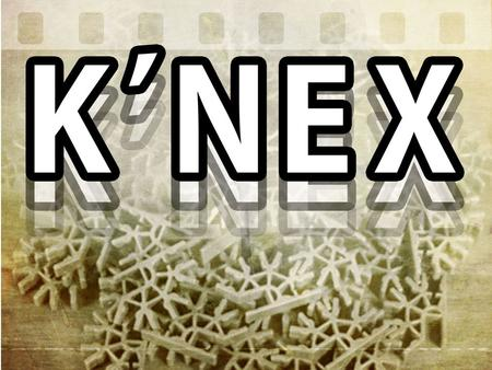 K'Nex at The Roots The Roots exist to Glorify God Jesus Focus Christ Confession o Philippians 2:9-11 Jesus Roots o 1 Corinthians 3:11 Christ's Conduit.