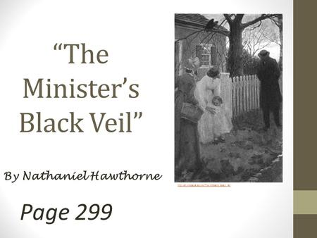 Alienation in the ministers black veil essay
