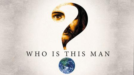 WHO IS THE MAN? HE'S THE RESURRECTED JESUS. 1 Peter 1:3-9.