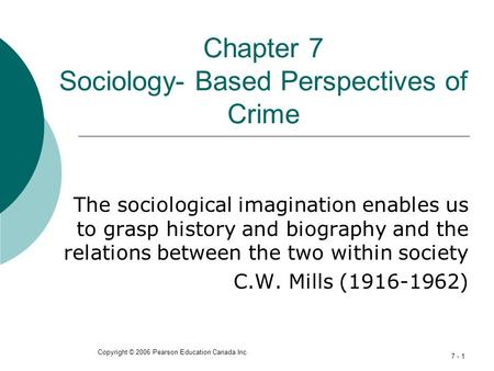 sociological imagination and perspectives