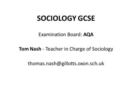 sociology as level examine the patterns Sociology is the study of rates, trends, and patterns in society through both quantitative and qualitative methods learn about it and its many subfields here.