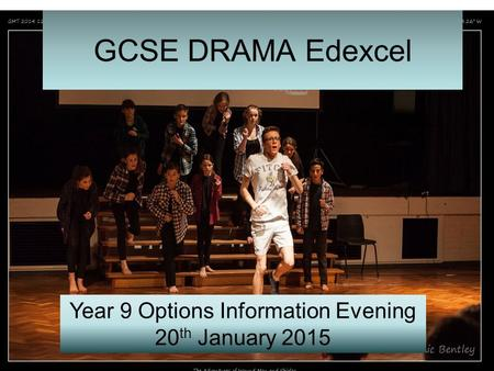 Year 9 Options Information Evening 20 th January 2015.