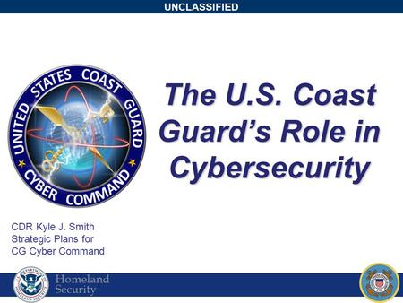 The U.S. Coast Guard's Role in Cybersecurity