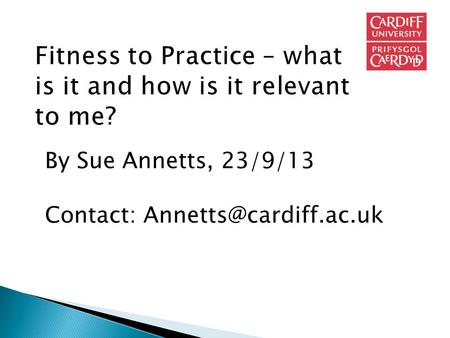 By Sue Annetts, 23/9/13 Contact: