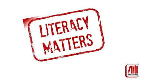 Literacy matters because in every subject we need to read, write and communicate effectively. We will work together and continue to improve our literacy.