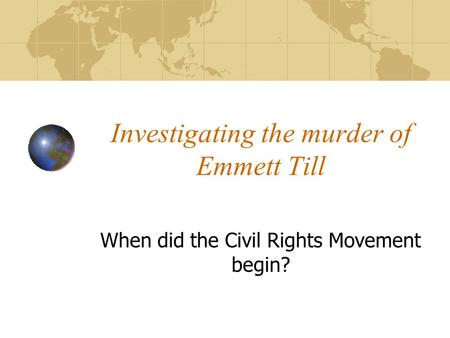 civil rights diary entry emmett till Civil rights and the struggle for black equality in the twentieth century  on august 28, 1955, fourteen-year-old chicago native emmett till was brutally beaten to death  mace's writing is clear and accessible  journal of southern history.