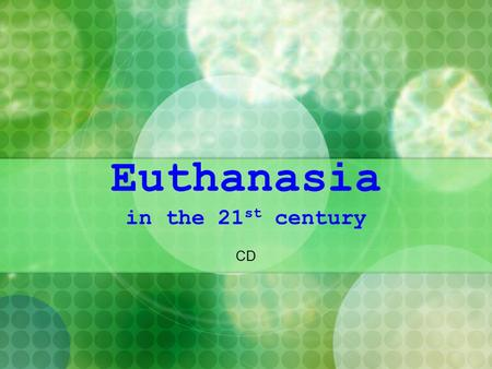 active euthanasia physician assisted suicide is wrong Voluntary euthanasia, also known as mercy killing, is one in which a person   something is either wrong or right, regardless of the circumstances  service to  hasten death, or active which is the physician assisted suicide of.