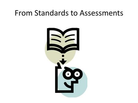 From Standards to Assessments. Deconstruction of Standards Program of Studies: SC-H-UD-U-2 Students will understand that within every cell are specialized.