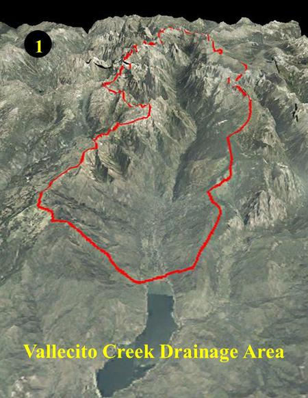 Vallecito Creek Drainage Area 1. Vallecito Creek Drainage Drainage Area - 96 sq. miles (61,440 acres) Length of Tributary Streams - 264 miles Residential.