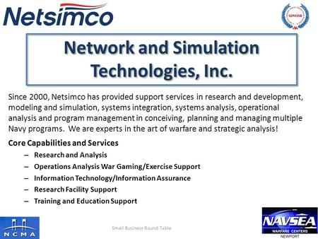 Network and Simulation Technologies, Inc.