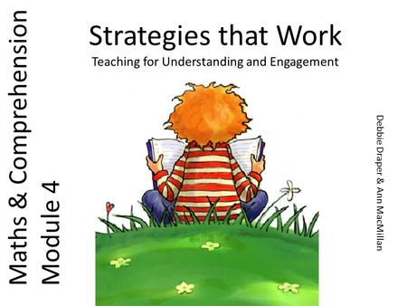 Strategies that Work Teaching for Understanding and Engagement