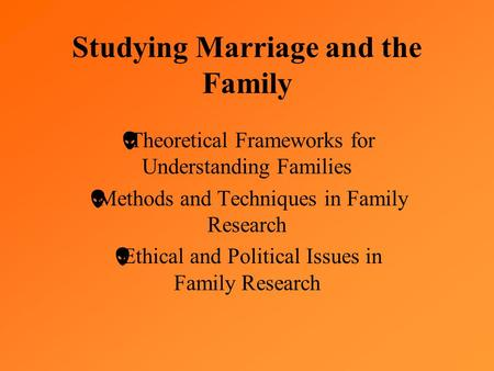 theoretical framework in early marriage Theoretical framework 1 - the micropolitics of partnering after recognizing same-sex cohabitation since 2001, in 2010 portugal became the 8th country worldwide, and the 6th in europe, to allow same-sex marriage (santos, 2013).