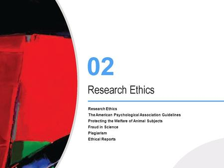 Research Ethics The American Psychological Association Guidelines