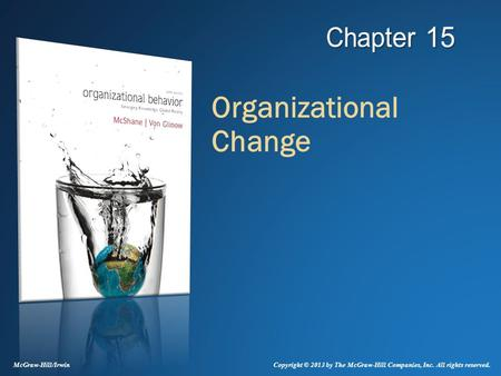 mcshane sl von glinow ma organizational behaviors chapter 1 Delivering what we've come to expect from this author team, mcshane/von glinow 6e helps everyone make sense of ob, and provides the conceptual tools to work more effectively in the.