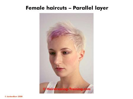 Female haircuts – Parallel layer