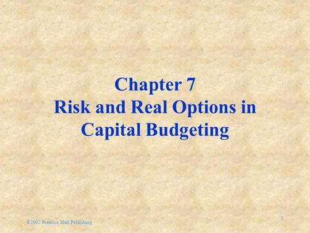 How Risk Analysis can be Essential in Capital Budgeting