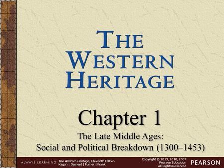Social and Political Breakdown (1300–1453)