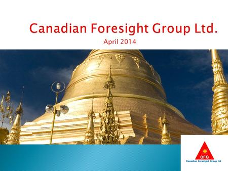 Canadian Foresight Group Ltd.