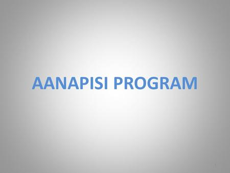AANAPISI PROGRAM 1. Authorization Allowable Activities Unallowable Activities Compliance/Reporting Successful Strategies Questions 2 AGENDA.