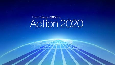 1. 2 Presentation Overview From Vision 2050 to Action2020: Overview Project status and implementation strategy A platform for transformational change.