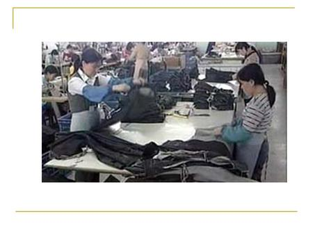"Apparel Industry: China ""The Sleeping Dragon"" By: Amanda LaConte Kate McElroy Brian Morris."
