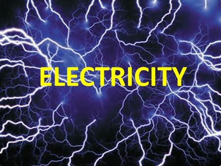 ELECTRICITY. STATIC ELECTRICITY 1) An atom can get a charge by gaining or losing electrons. Review - On your handout, label the diagram and fill in the.