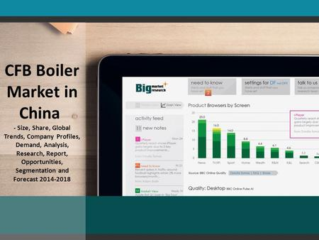 CFB Boiler Market in China - Size, Share, Global Trends, Company Profiles, Demand, Analysis, Research, Report, Opportunities, Segmentation and Forecast.