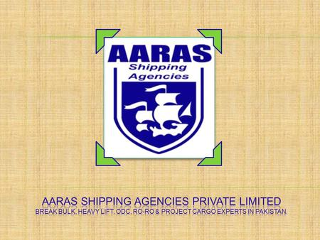 AARAS SHIPPING AGENCIES (PVT) LTD are proud to announce that we have successfully handled the 2 nd Part of UCH Power Project vessel into our agency.