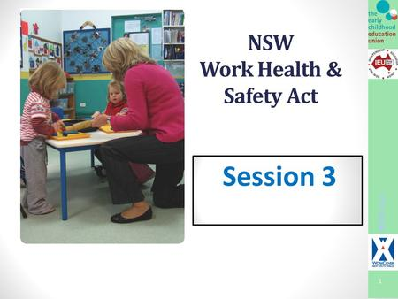 1 NSW Work Health & Safety Act Session 3 WHS Act.