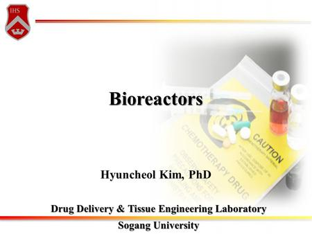 Drug Delivery & Tissue Engineering Laboratory