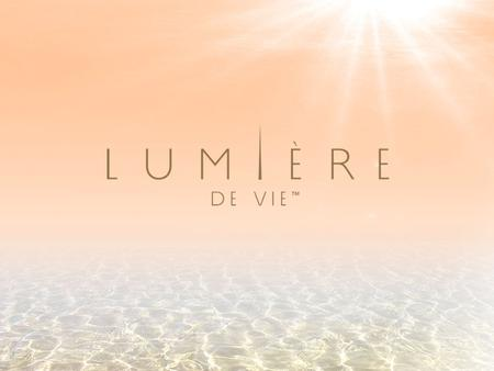 Put life and light into your skin with Lumière de Vie.