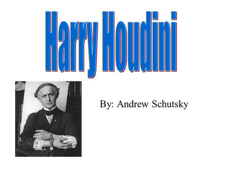 a literary analysis of the subject of the book ehrich weiss aka great houdini