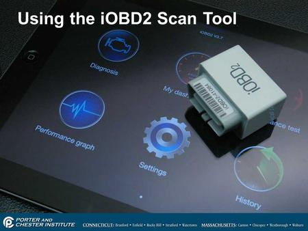 Using the iOBD2 Scan Tool
