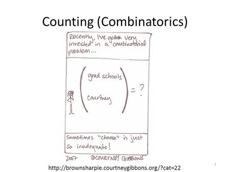 Counting (Combinatorics)  1.