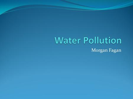Morgan Fagan. Oxygen Demanding Waste Organic matter that enters water ways and feeds the growth of microbial decomposers Affects Increases biological.