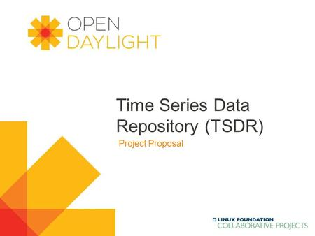 Time Series Data Repository (TSDR)