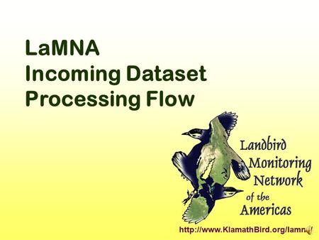 LaMNA Incoming Dataset Processing Flow.