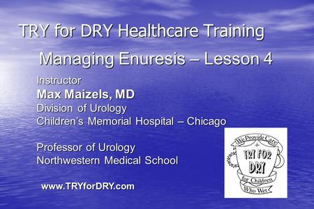 TRY for DRY Healthcare Training