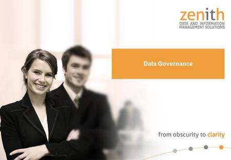 Overview Background Data Governance Defined