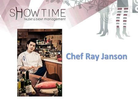 "Chef Ray Janson. Personal Profile Having graduated from the second to none culinary school Le Cordon Bleu, Paris, with a prestigious ""Grand Diplome"" (Cuisine."