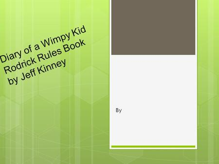 Diary of a Wimpy Kid Rodrick Rules Book by Jeff Kinney By.