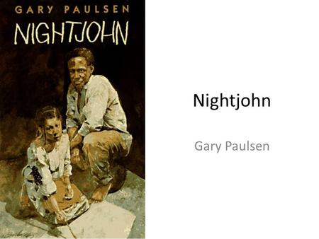 essay questions for nightjohn Question description write an essay for chapter sketch  nightjohn  he is the character need to talk about in this essay here is the link for chapters and i will give a picture of instruction to fallow to do it.