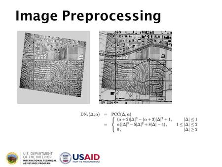 Image Preprocessing. Learning Objectives Be able to describe when and why image corrections are appropriate or necessary Give examples of some common.