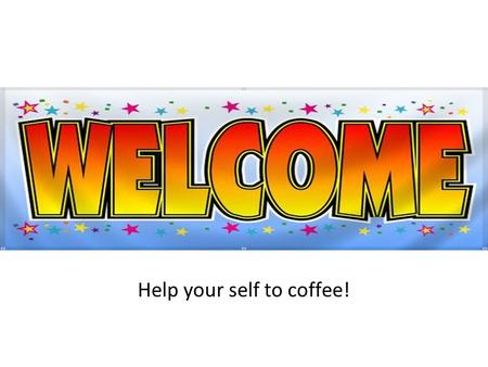 Help your self to coffee!. EMC Technical Assistance Project Andrew Pritchard Director of Policy & Infrastructure.