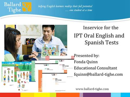 IPT Oral English and Spanish Tests