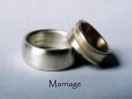 Marriage. The Purpose of Marriage: Many Christians believe that there are 2 purposes of marriage: 1.To love another person, in a distinct and unique way,